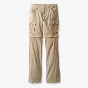 Prana Convertible Sage Hiking Pant Regular Small S